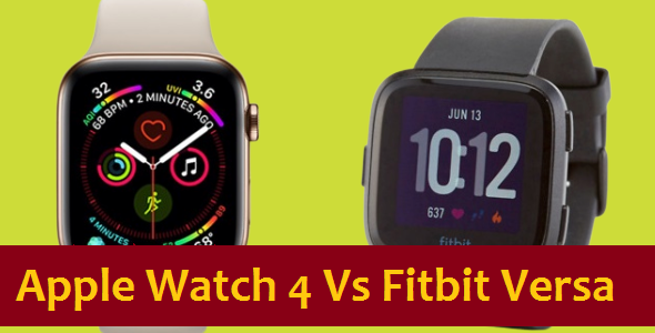 Apple Smartwatch 4 vs Fitbit Versa