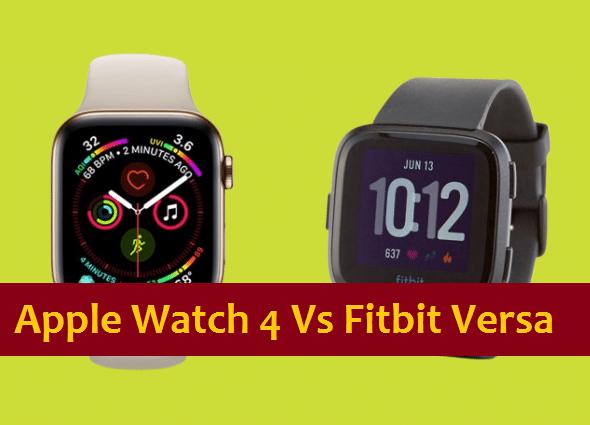 Apple Smartwatch 4 vs Fitbit Versa