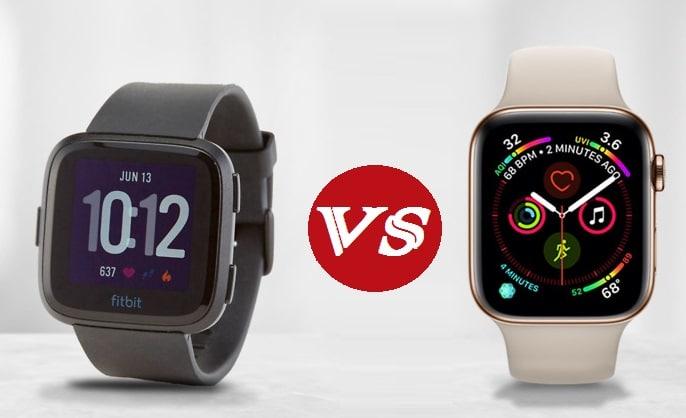 Apple Smartwatch 4 vs Fitbit Versa: Best Analysis 2019