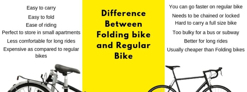 Folding Bike Vs Regular Bike - The Perfect Feature Comparison