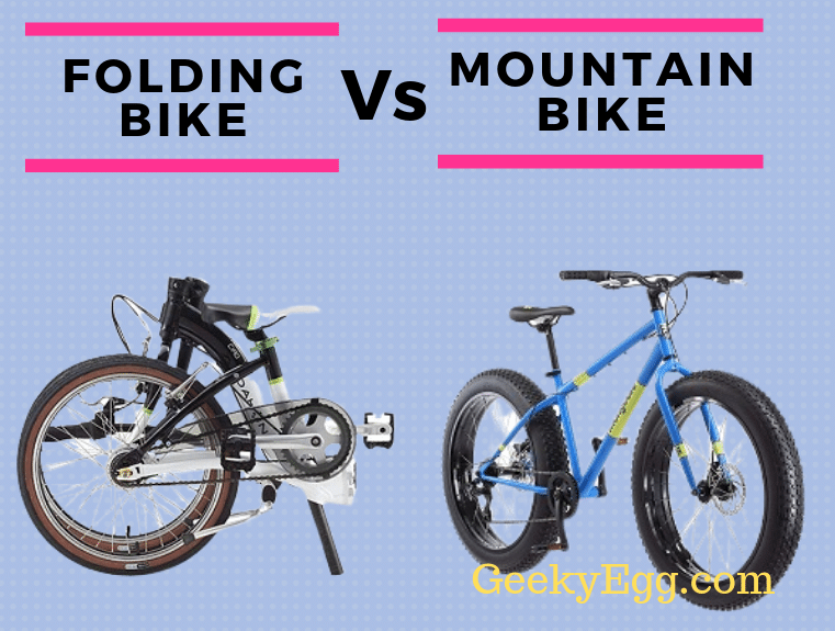 Folding Bike vs Mountain Bike
