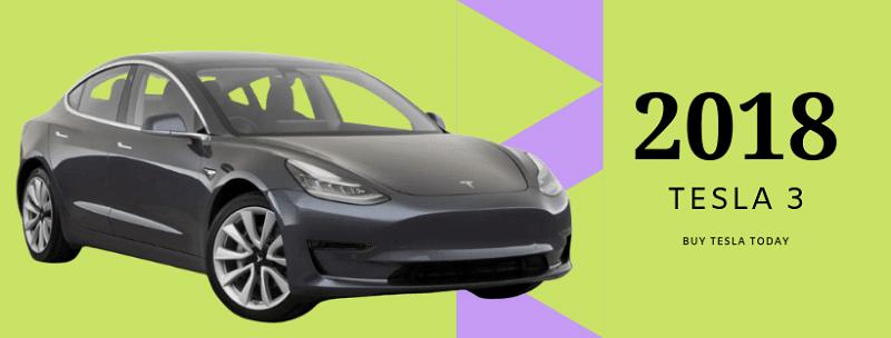 2018 Tesla 3