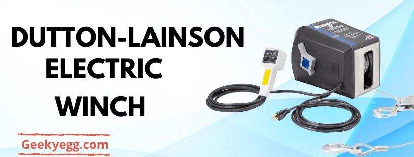 Dutton-Lainson Electric Winch