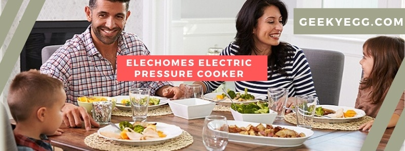 Elechomes Electric Pressure Cooker