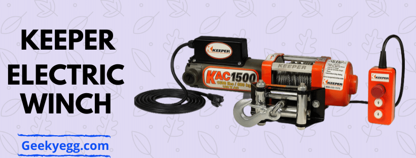 KEEPER Electric Winch 2020