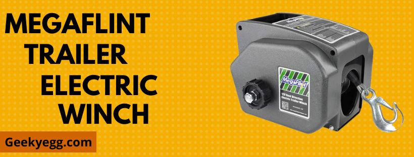 Megaflint Trailer Electric Winch