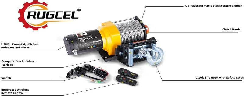 RUGCEL Electric Winch