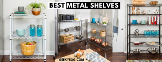 Top 10 Best Metal Shelves 2021 - Garage Shelving & Storage Racks