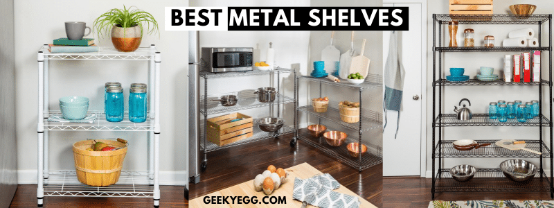 Best Metal Of 2021 Top 10 Best Metal Shelves 2021   Garage Shelving & Storage Racks