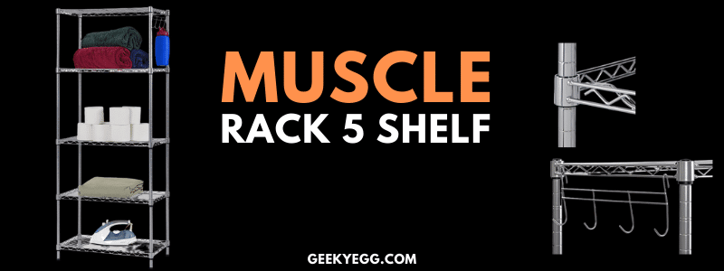 Muscle Rack 5 shelf