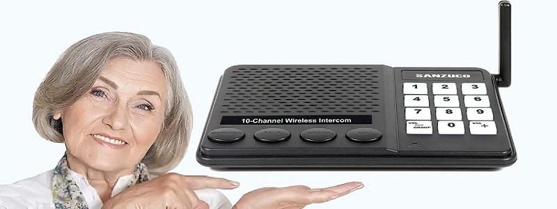 SANZUCO Wireless Home Intercom Systems