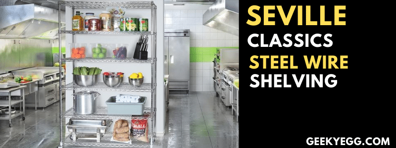 Seville Classics Steel Wire Shelving