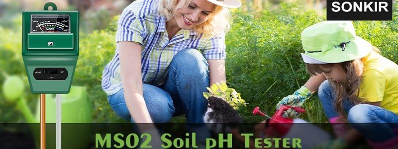 Sonkir Soil pH Meter