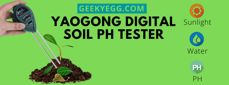 Yaogong digital Soil PH Tester