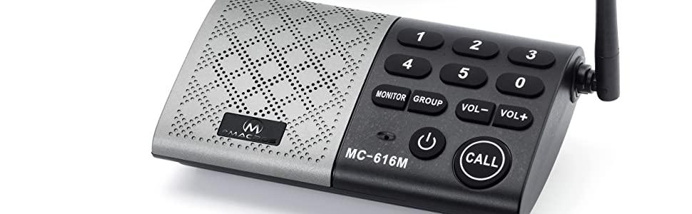 eMACROS Portable Wireless Intercom System