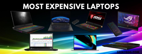 Top 10 Most Expensive Laptops 2021 - Expensive Laptops in the World