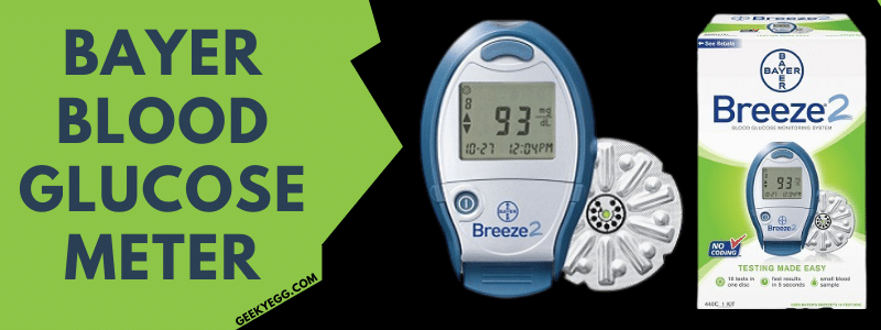 Bayer blood glucose meter