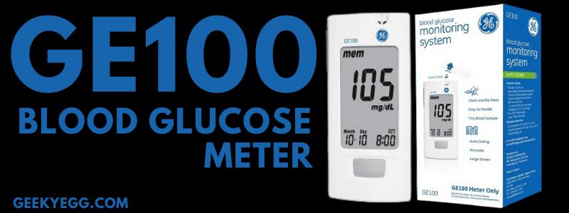 GE100 Blood Glucose Meter