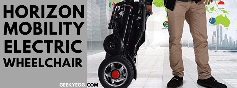 Horizon Mobility electric wheelchair