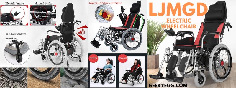 LJMGD Electric Wheelchair