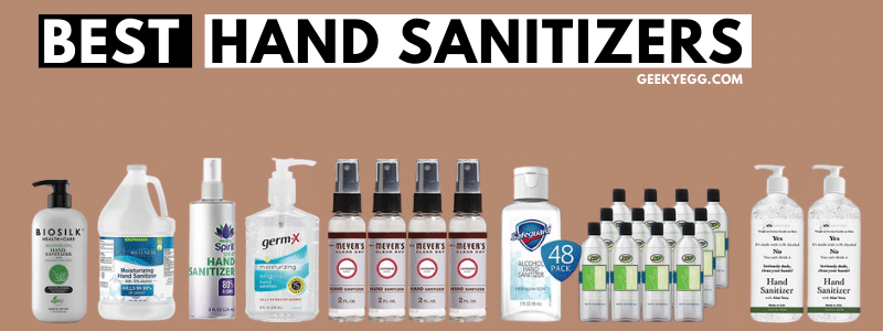 Top 10 Best Hand Sanitizers 2021 - Reviews & Buyer's Guide