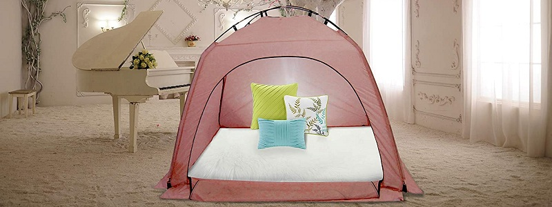 Privacy Play Tent on Bed